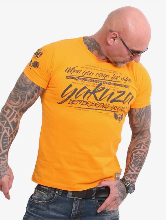 Yakuza T-Shirt Better Bring Yours orange