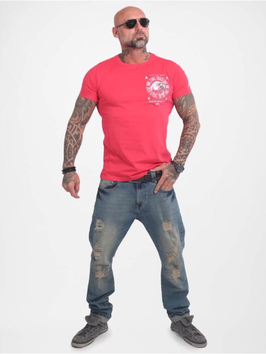 Yakuza T-Shirt Bad Side pink
