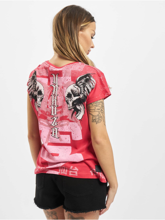 Yakuza T-Shirt Sick Nippon pink