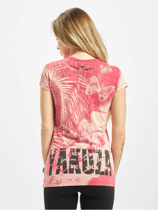 Yakuza T-Shirt Butterfly red