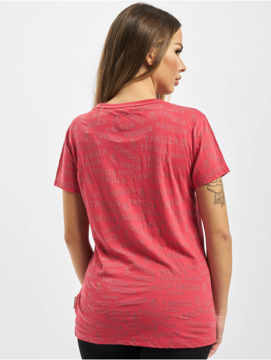 Yakuza T-Shirt Memento Mori Burnout red