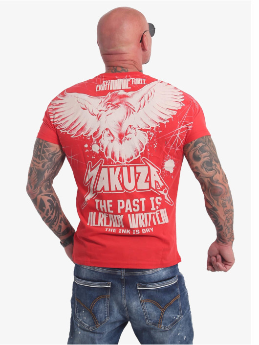 Yakuza T-Shirt Dry Ink red