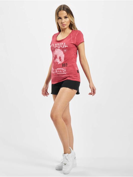 Yakuza T-Shirt Panda Racerback red