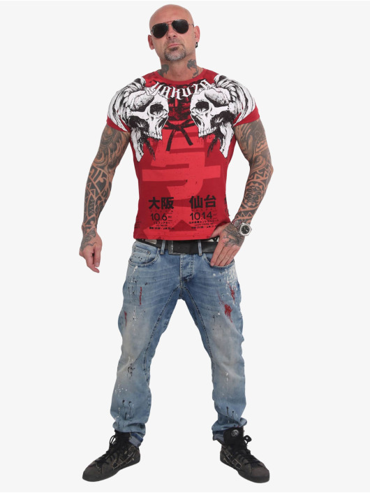 Yakuza T-Shirt Sick Nippon red