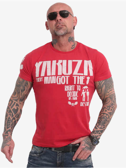 Yakuza T-Shirt Right To Decide red