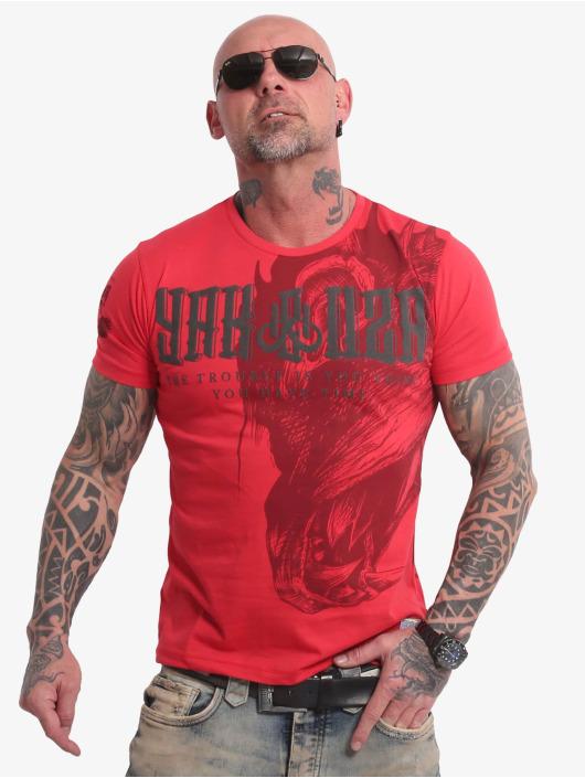 Yakuza T-shirt Dragon röd