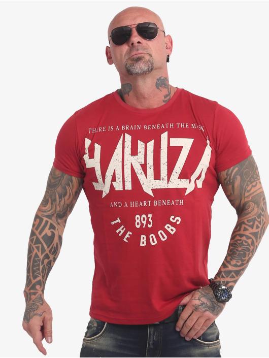 Yakuza t-shirt Boobs rood
