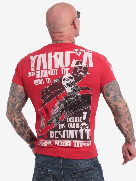 Yakuza t-shirt Right To Decide rood