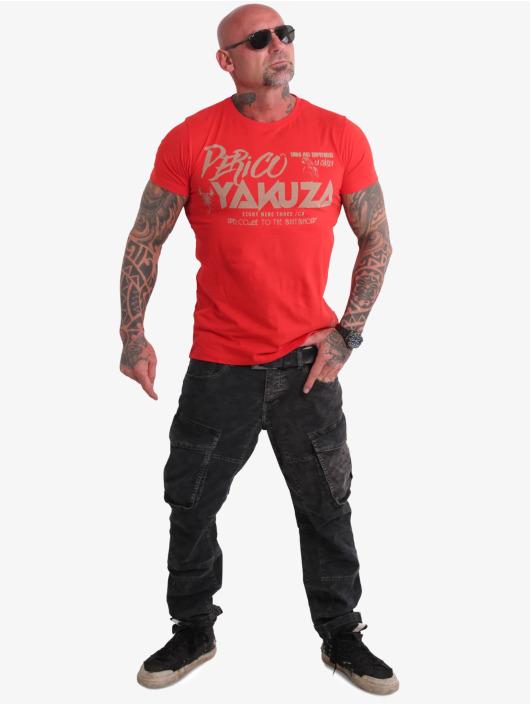 Yakuza t-shirt Perico rood