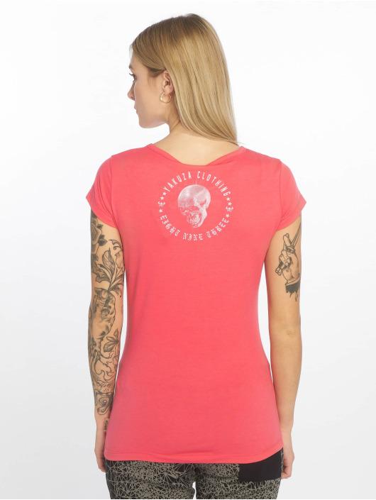 Yakuza T-shirt Your Hate rosa