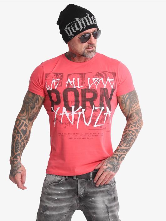 Yakuza T-Shirt Porn rosa