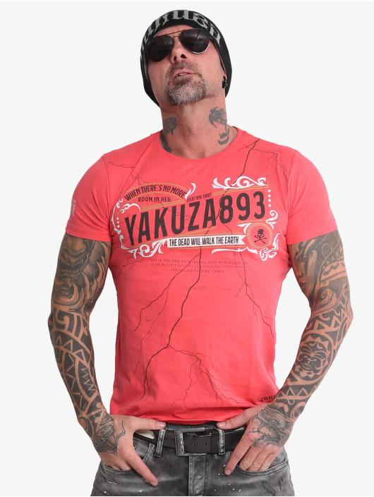 Yakuza T-Shirt Room In Hell rosa