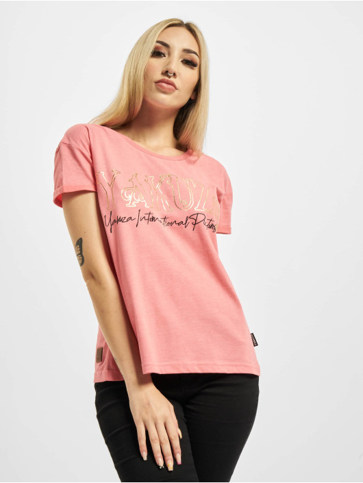Yakuza T-Shirt Glory Box Fit rosa