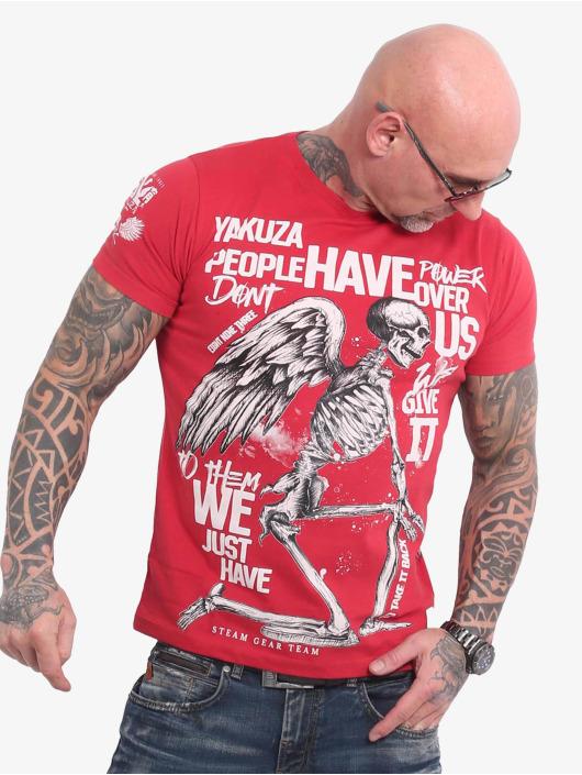 Yakuza T-Shirt Power Over Us rot