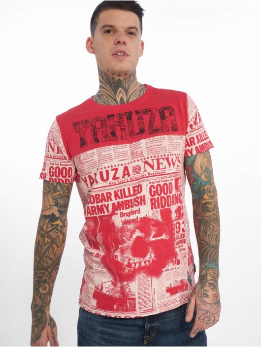 Yakuza T-Shirt Escobar rouge