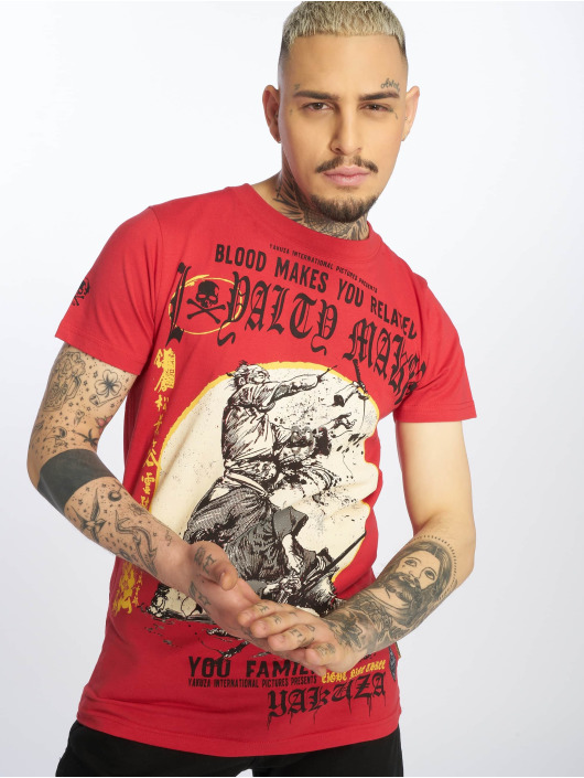 Yakuza T-Shirt Loyality rouge
