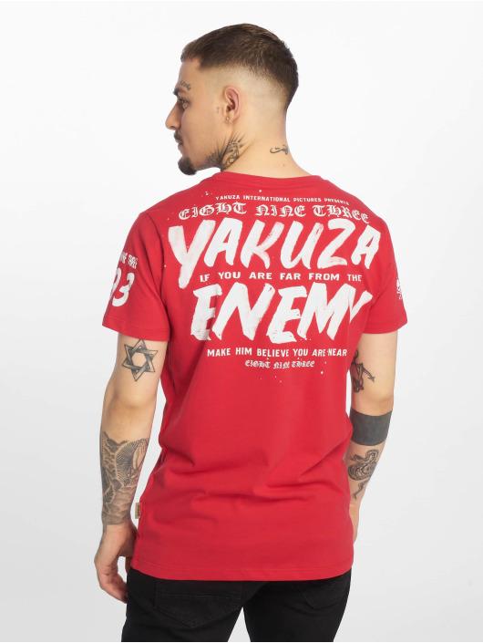 Yakuza T-Shirt Enemy rouge