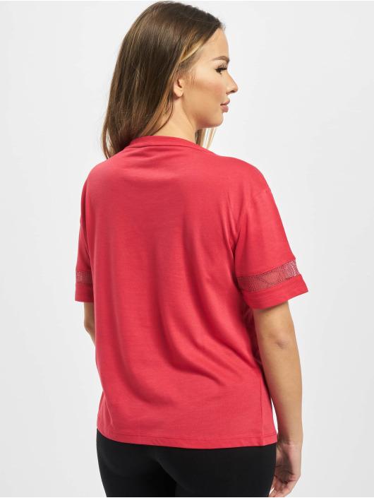 Yakuza T-Shirt Ent Panelling Box Fit rouge