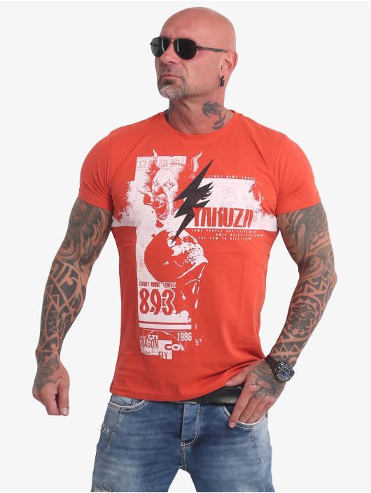 Yakuza T-Shirt Crucified rouge