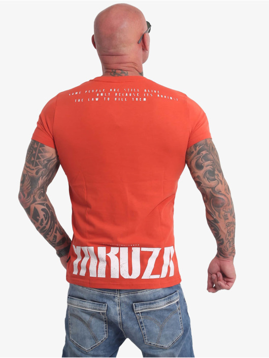 Yakuza T-Shirt Crucified rouge