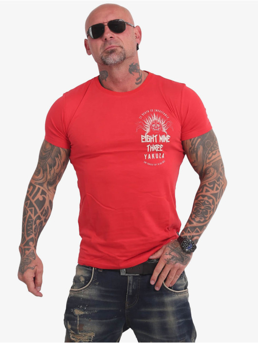 Yakuza T-Shirt Inevitable rouge