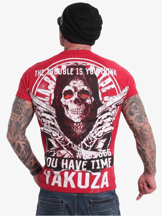 Yakuza T-Shirt Trouble rouge