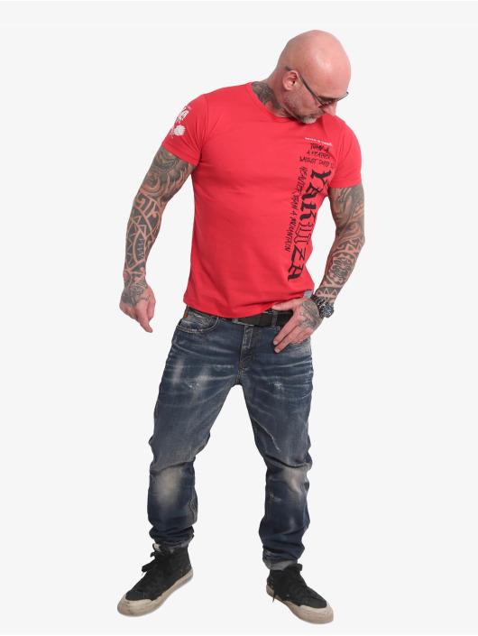 Yakuza T-Shirt Death Duty rouge