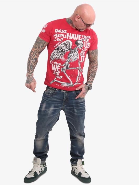 Yakuza T-Shirt Power Over Us rouge
