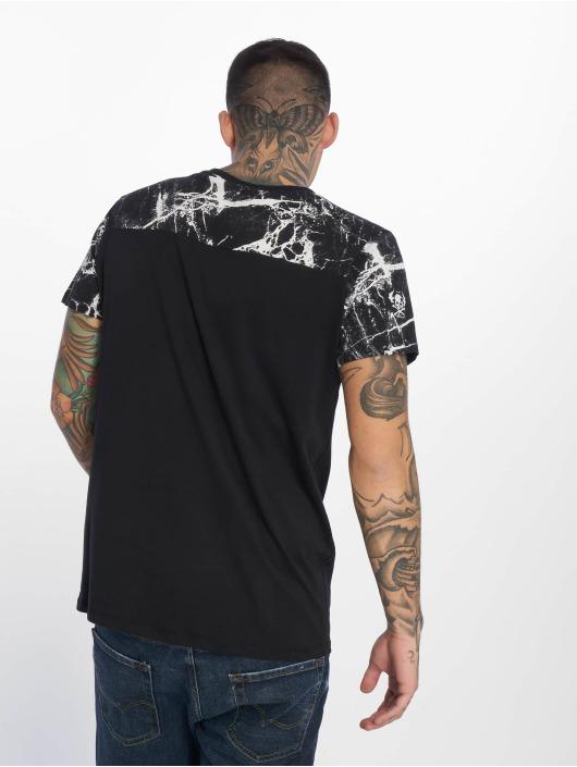 Yakuza T-Shirt Marble schwarz