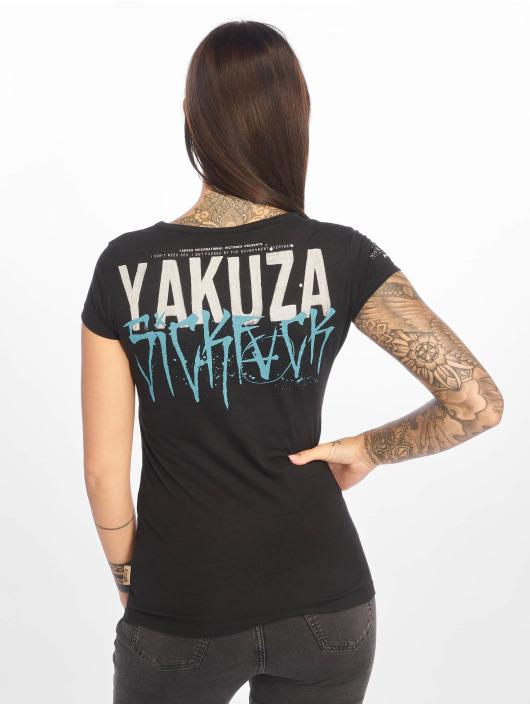 Yakuza T-Shirt Smile schwarz