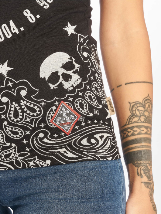 Yakuza T-Shirt Tijuana schwarz