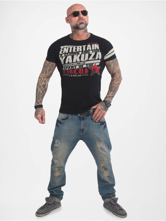 Yakuza T-Shirt Entertain schwarz