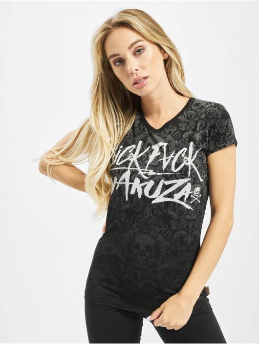 Yakuza T-Shirt Sick Pattern schwarz