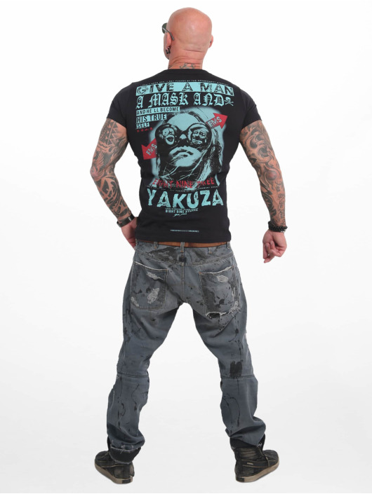 Yakuza T-Shirt Fly schwarz