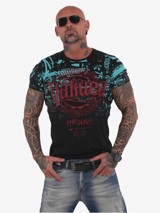 Yakuza T-Shirt Through Times schwarz
