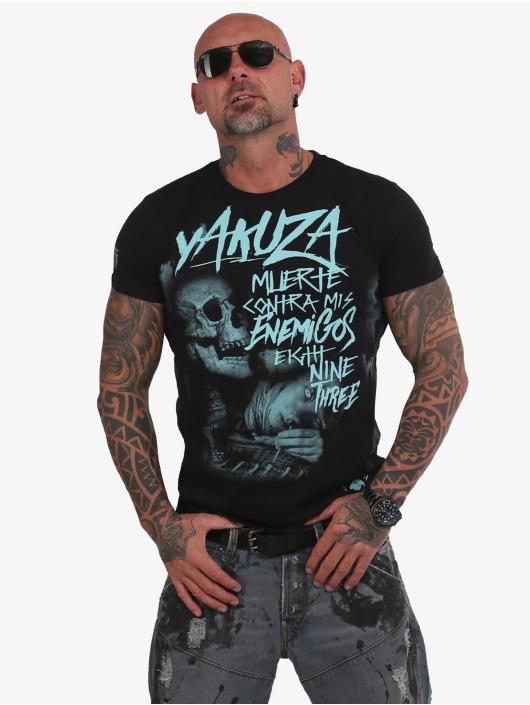 Yakuza T-Shirt Muerte Skull schwarz