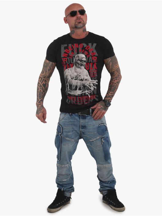 Yakuza T-Shirt Unbeing schwarz