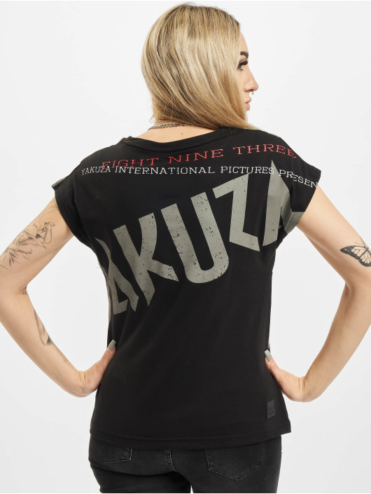 Yakuza T-Shirt Panda Box Fit schwarz