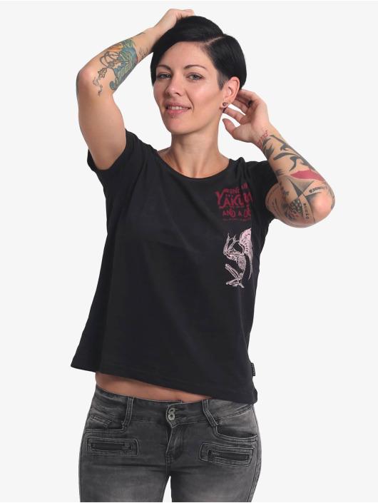 Yakuza T-Shirt End Well Box Fit schwarz
