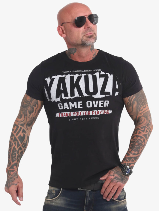 Yakuza T-Shirt Hating Clown schwarz