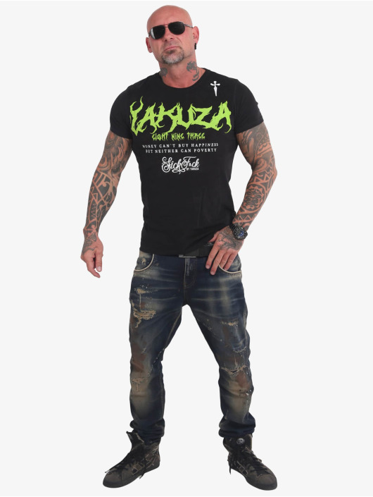 Yakuza T-Shirt Buy Happiness schwarz