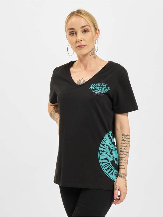 Yakuza T-Shirt Jodas V-Neck schwarz