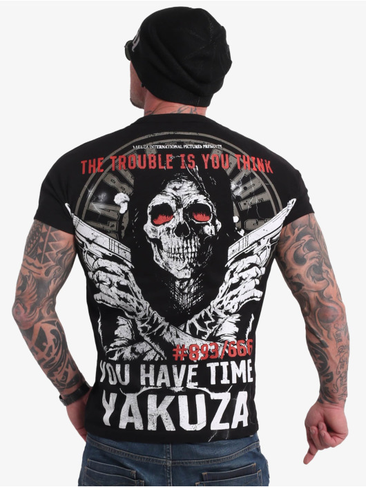Yakuza T-Shirt Trouble schwarz