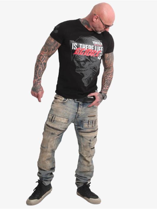 Yakuza T-Shirt Life Before schwarz