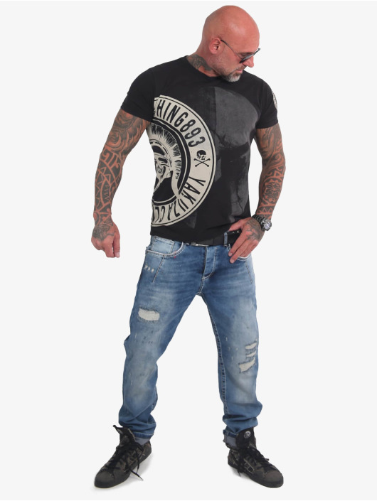 Yakuza T-shirt Spartan svart