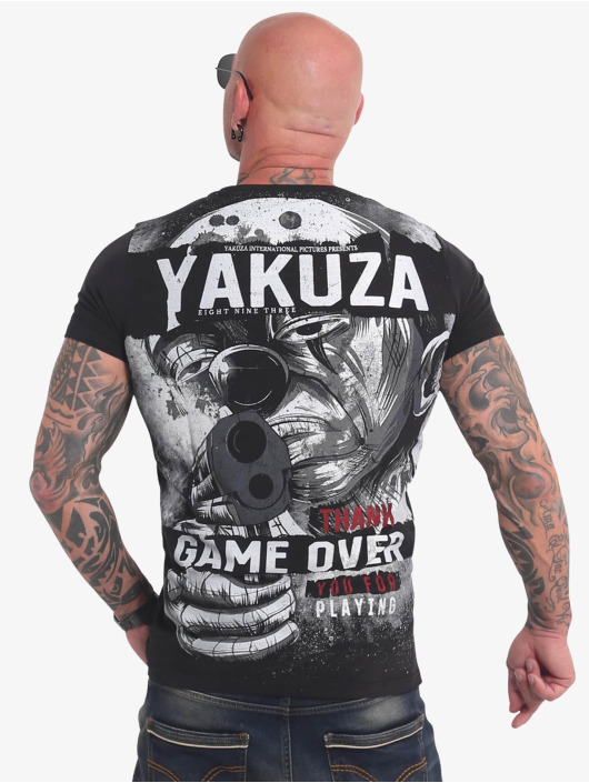 Yakuza T-shirt Hating Clown svart