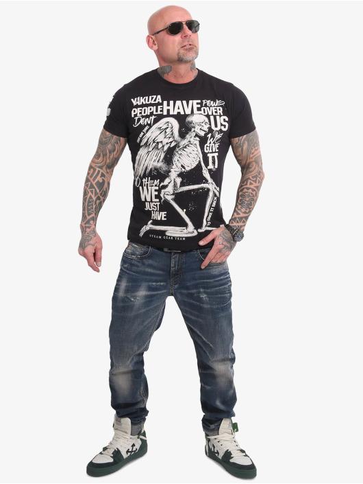Yakuza T-shirt Power Over Us svart