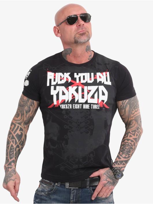 Yakuza T-shirt F.Y.A. svart