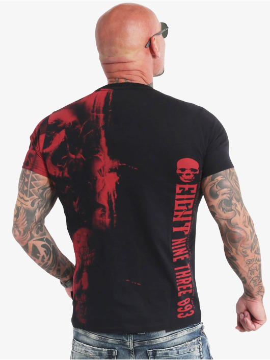 Yakuza T-shirt Waiting Death svart