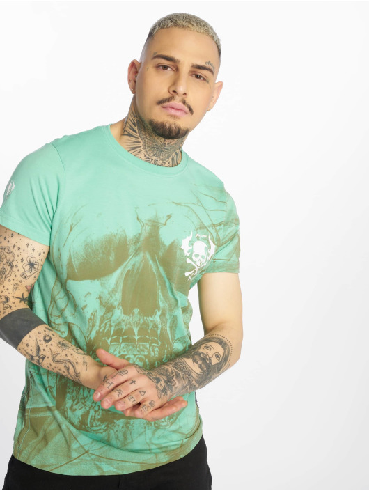 Yakuza T-Shirt Cyber Death türkis